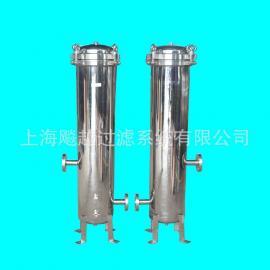 厂家供应不锈钢精密过滤器 滤芯式过滤器 卫生级保安过滤器