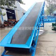 厂家非标定制电动升降式包料输送机