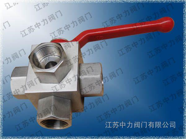 ZLQ401P不锈钢高压球阀_T型高压球阀