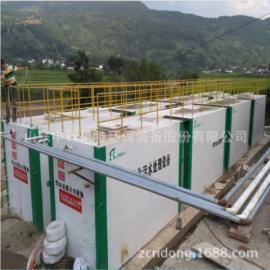 中科贝特加工地埋式生活、医院污水处理设备处理达标排放