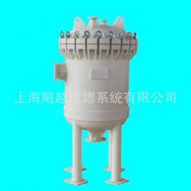 PP多袋式过滤器 聚丙烯袋式过滤器 PP保安过滤器
