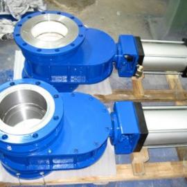 气动耐磨陶瓷出料阀 Z644TC-10C气动陶瓷双闸板闸阀