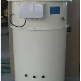 本行小容量白灰储料仓设备白灰罐50吨白灰罐仓顶清灰器安装案例
