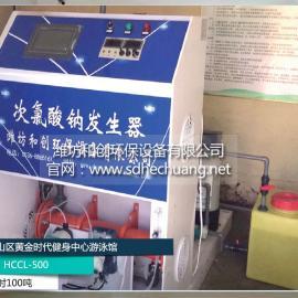 游泳池循环水处理设备/次氯酸钠发生器设备厂家