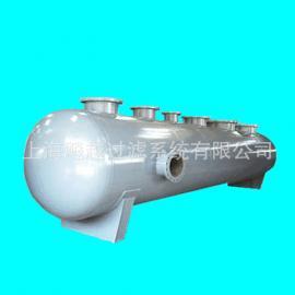 上海直供空调分集水器 地暖分水器 不锈钢分气缸 锅炉集水器