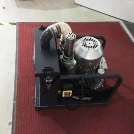 机床打磨配套小型固定式吸铁屑铁粉工业吸尘器
