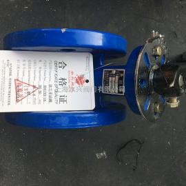 SD41XX-16脱硫专用法兰手动蝶阀