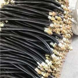 粉尘BNG防爆挠性连接管DN20*500防爆绕性管橡胶护套防爆软管