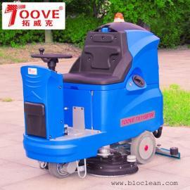 苏州洗地机-车间用驾驶式洗地机