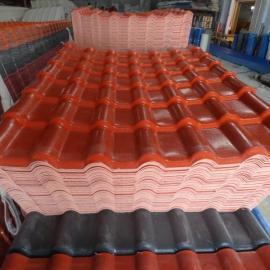 云南合成树脂瓦环保建筑材料哪里有卖 树脂瓦多少钱一吨
