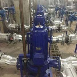 125G75-27-11NY高效�o泄漏管道屏蔽泵 立式�o音管道泵制造商