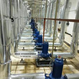 供应小功率屏蔽式管道泵50G12.5-32-4NY 立式静音管道离心泵