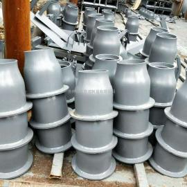 河北厂家直销 翻转式闸阀套筒 上口150mm闸阀套筒 H=250mm