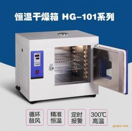 电热真空干燥箱真空烘箱HG-101系列恒温干燥箱工业烤箱