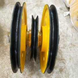桥式叉车动叉车材质 铸钢料叉车组32吨 机动叉车下钩轮片