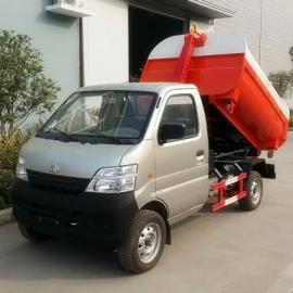 长安3方勾臂垃圾车多少钱,长安3方车厢可卸式垃圾车价格
