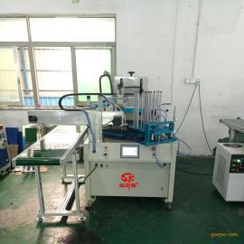 四工位自动上下料转盘丝印机