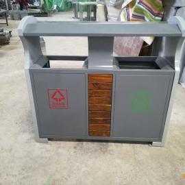 高档环保垃圾桶 钢板分类垃圾箱 不锈钢垃圾桶 款式多样 可定制