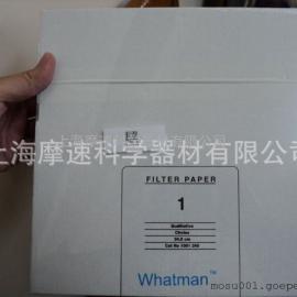 上海摩速代理WHATMAN 1001-240 24CM直径1号定性滤纸 11UM