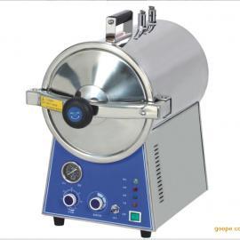 滨江 自控型台式快速蒸汽消毒锅 手提式灭菌器 TM-T24J