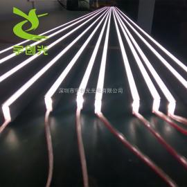 LED线性照明硬灯条 3米长铝条灯无光斑可定制长度LED装饰灯条