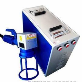 小型二氧化碳激光打标机,塑料玻璃皮革激光刻字打标机