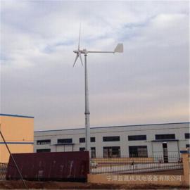 低转速2000瓦家用离网水平轴风力发电机