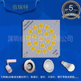 投光灯集成灯珠原装飞利浦蕊片集成光源20W大功率LED光源