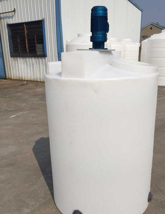 2000L加药箱2吨PE储罐2立方塑料水塔防腐蚀耐磨加厚型平底搅拌桶