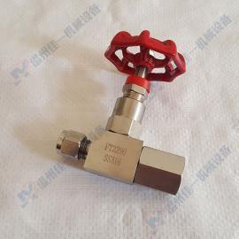 订做JJM1压力表截止阀 不锈钢压力表针型阀 压力表针型截止阀