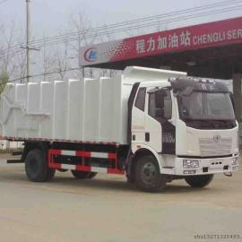 解放国五对接式垃圾车