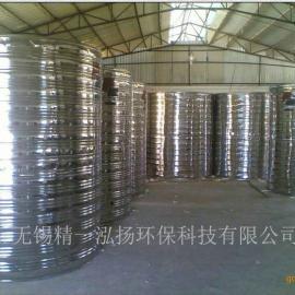 精一泓扬厂家优惠促销圆柱形不锈钢保温水箱