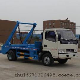 东风多利卡国五摆臂式垃圾车