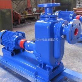 ZW自吸式无堵塞排污泵 铸铁材质污水自吸泵厂家50ZW15-30-3KW