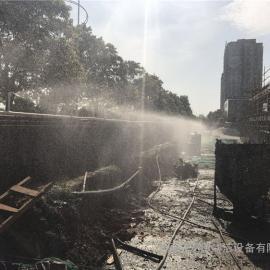 太原塔吊喷淋系统建筑工地外架喷雾降尘北京赛车