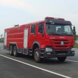 泡沫消防车-斯太尔双桥消防车