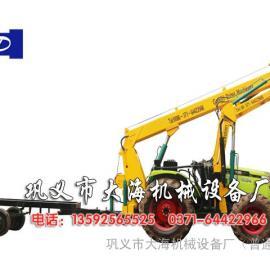 多功能前置式拖拉机挖坑机专利产品厂家直销