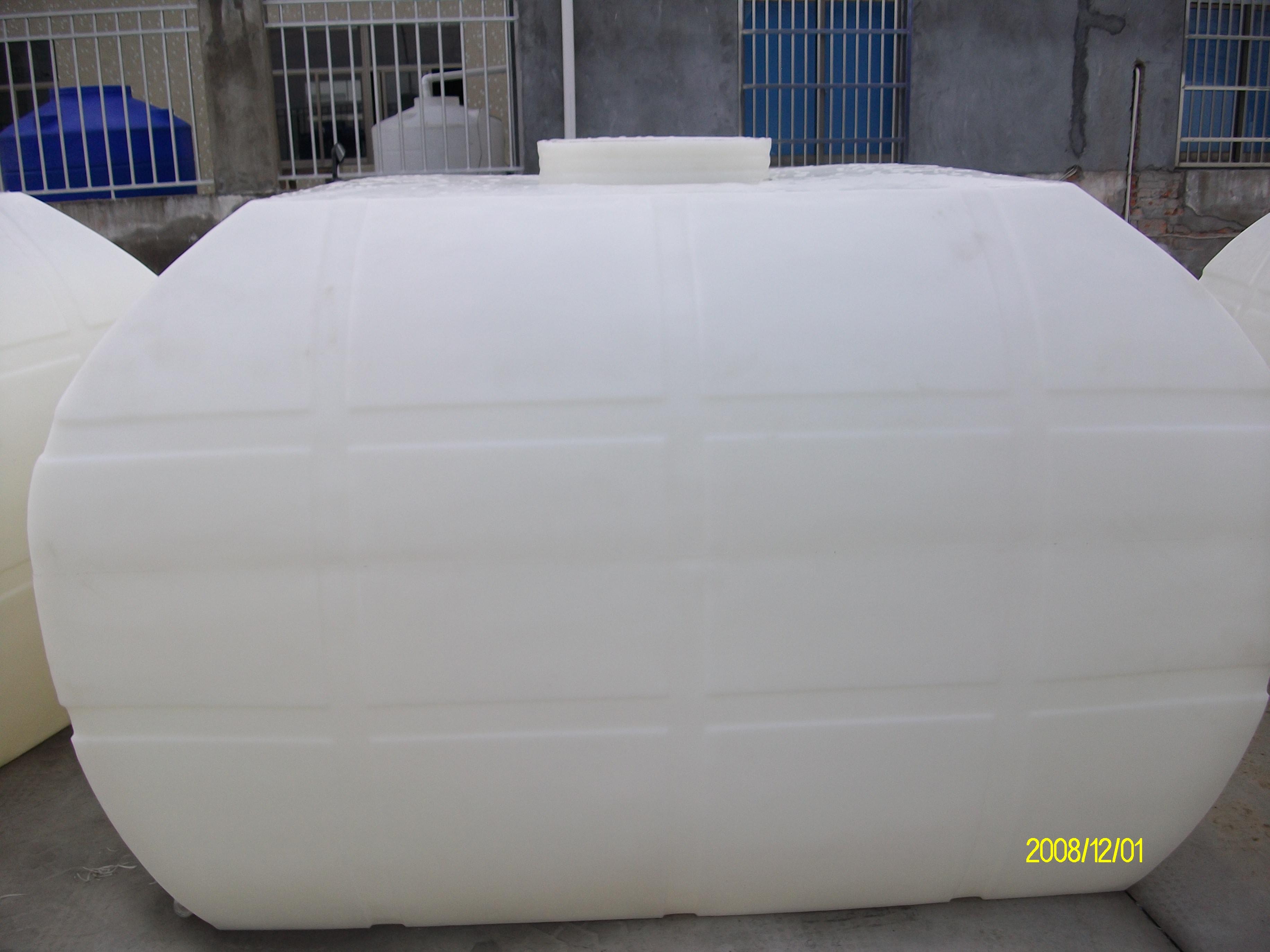 2000L卧式水箱 耐酸碱车载运输化工罐
