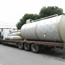 烟气脱硫厂家,广东佛山专业生产制作PP烟气脱硫塔厂家直销