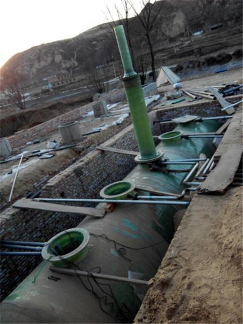 40t/d地埋式生活污水处理设备