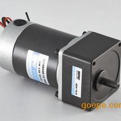 80系列25W80mm法兰微型有刷直流减速电机