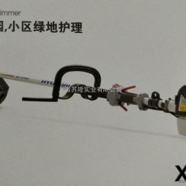 韩国现代割草机X750U 侧挂式割灌机 韩国现代除草机 打草机