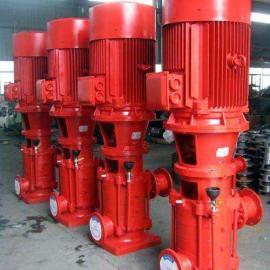 消防泵源头厂家直供 3CF认证立式管道增压喷淋泵消火栓泵稳压泵