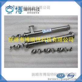 静态混合器 不锈钢静态混合器工作原理 流体静态混合器价格