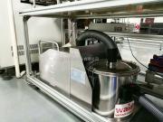 大型工厂车间清洁用大功率工业吸尘器威德尔不锈钢品牌吸尘器