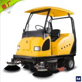 明诺驾驶式扫地机带顶棚MN-E800W封闭式电动扫地机厂家