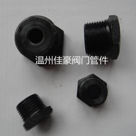 佳豪牌304SS不锈钢碳钢六角内外丝补芯 内外螺纹补芯转换接头