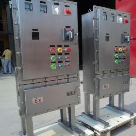 IIC不锈钢防爆动力配电箱BXD带指示灯防爆按钮箱防爆控制开关箱