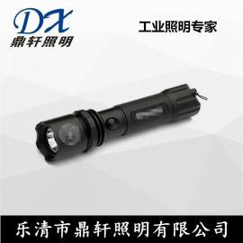 鼎轩照明直销JW7621强光巡检手电筒