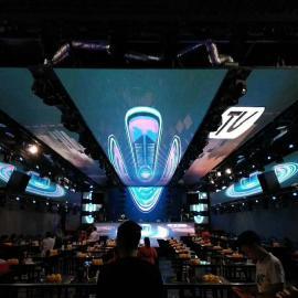 50平米舞台LED显示屏安装报价和销售